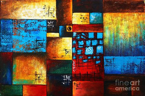 House Decor App abstract oil painting modern contemporary art house wall