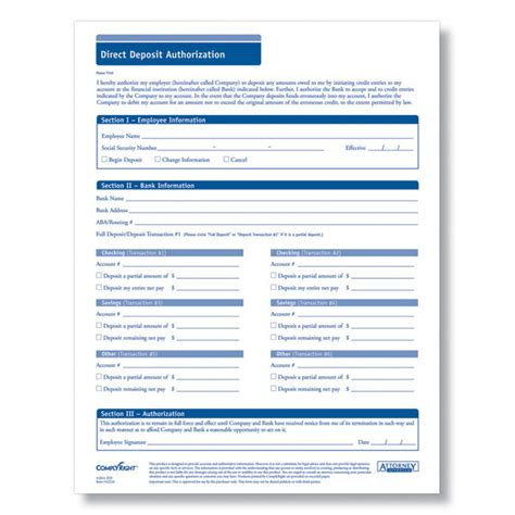 direct deposit form template 5 generic direct deposit form templates formats