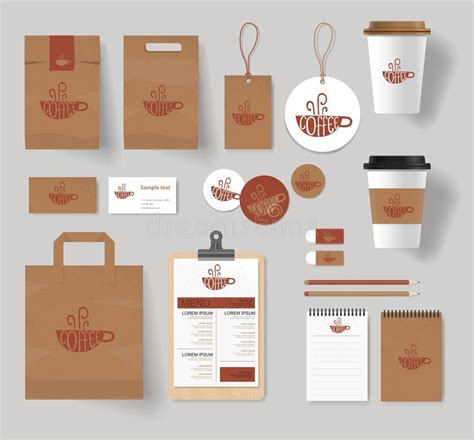 coffee shop branding design corporate branding identity for coffee shop and restaurant
