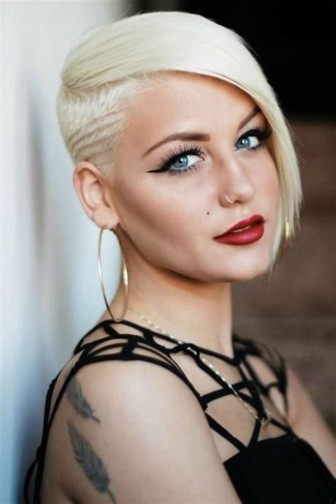 Moderne Frisuren Frauen by Undercut Frauen Frisuren So Stylen Sie Den Undercut