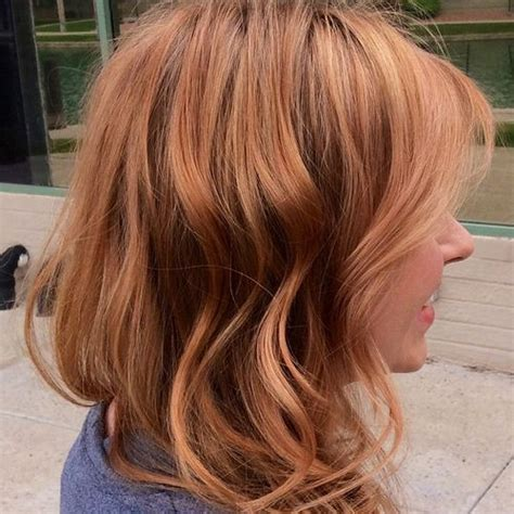blonde and copper hairstyles copper blonde haircut short hairstyle 2013