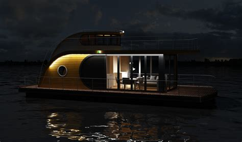 sail away from it all in the gorgeous nautlius houseboat