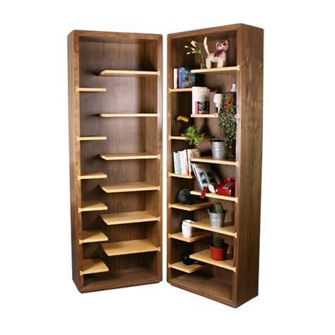 libreros de madera librero de mdf y chapa de madera nogal arce mat chapa
