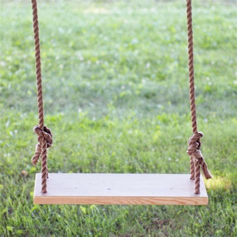make a tree swing a tutorial for making this simple and fun wooden tree