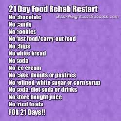 may 2014 challenge 21 day food rehab restart black weight loss success