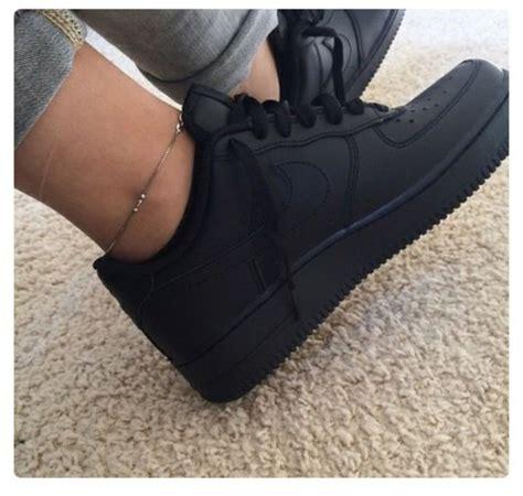matte black shoes shoes matte matte black black style nike air 1