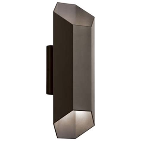 Up And Wall Sconce Estella Outdoor Led Up And Wall Sconce By Kichler At