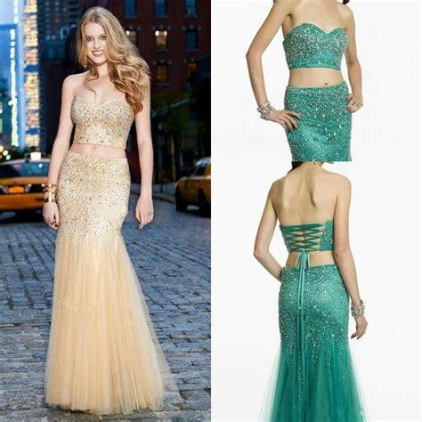 Dress Black Newstyle Fashion Impor fashion two pieces evening dresses shiny