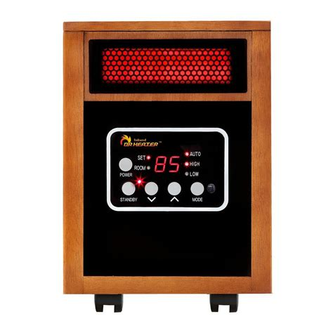 infrared heat l home depot dr infrared heater original 1500 watt infrared portable