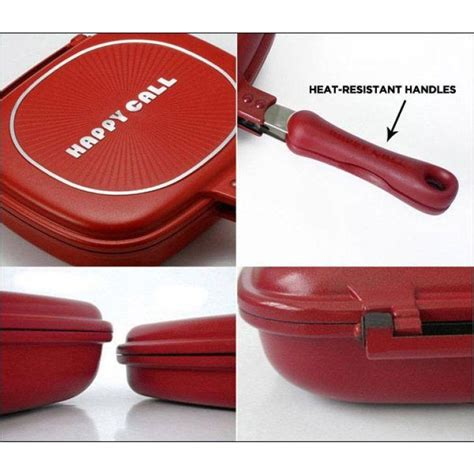 Happycall Pan 32cm Original happy call non stick sided fry grill pan 32cm