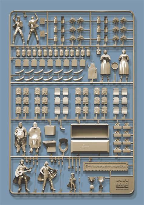 model kits conspiracy theories illustrated using plastic model kits