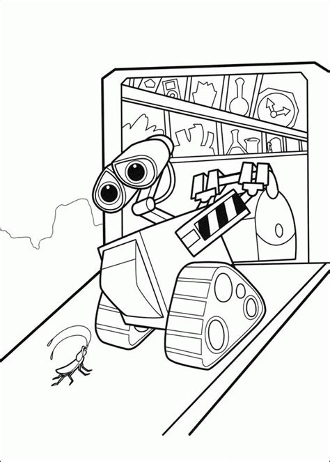 coloring book wall wall e coloring pages coloringpages1001