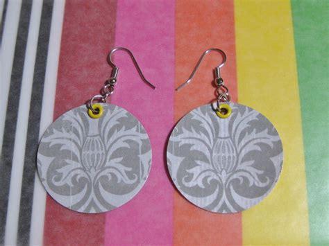 Paper Earrings Tutorial - paper earrings tutorial lulabelle handicrafts