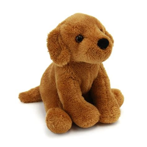 golden retriever with stuffed animal gracie the 5 inch plush golden retriever mini pup by douglas