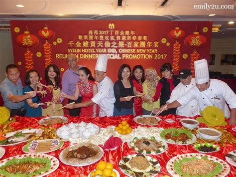 new year delivery ipoh syeun hotel ipoh new year reunion dinner menus