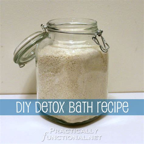 Do Detox Baths Work For Colds by Diy Detox Bath Recipe