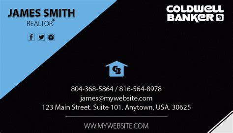 coldwell banker business card template coldwell banker business cards 19 coldwell banker