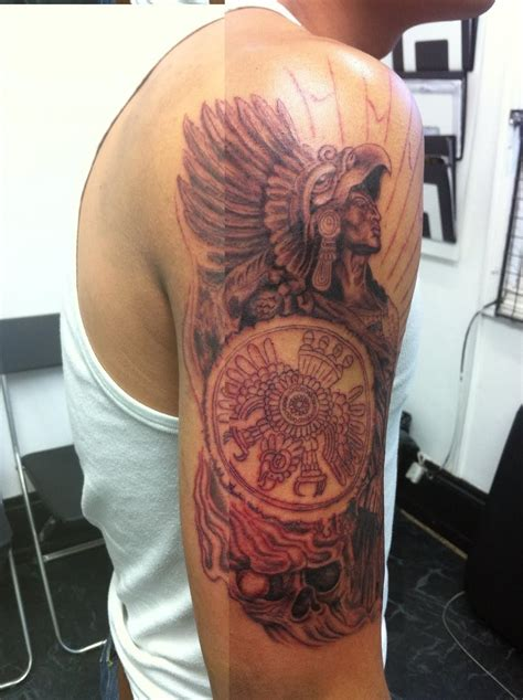 aztec warrior tattoos designs aztec tattoos designs ideas and meaning tattoos for you