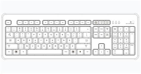 layout keyboard us qwerty keyboard layout