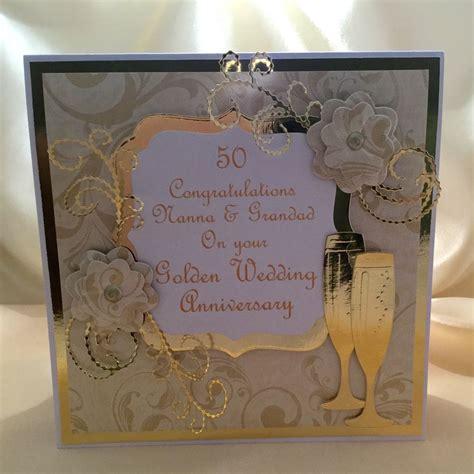 Handmade 50th Anniversary Gifts - personalised handmade luxury golden 50th wedding