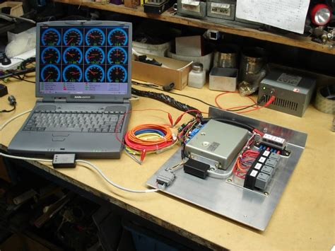 ecu test bench plms developments wiring looms