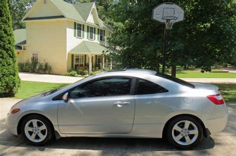 honda civic 2008 silver purchase used 2008 honda civic ex 2 door coupe silver in