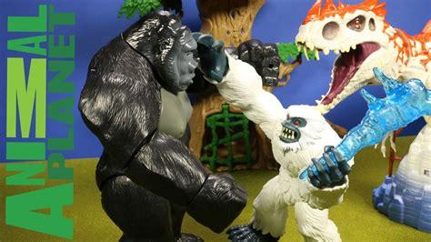 animal planet yeti new animal planet yeti playset vs indominus rex king