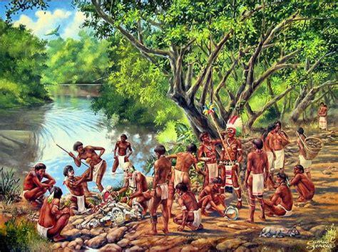 Los Indios Tainos De Puerto Rico | los ta 237 nos llegaron al norte primero de col 243 n y del