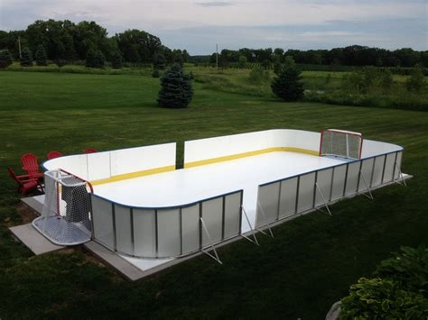 backyard rink kit outdoor furniture design and ideas