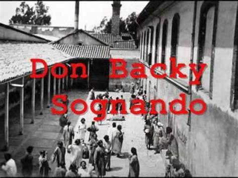 don backy poesia testo don backy sognando viyoutube