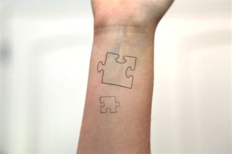 puzzle piece tattoo puzzle tattoos designs ideas and meaning tattoos