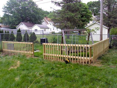 garden fence uncommoncoder diy garden fence