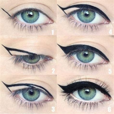cat eyeliner tutorial step by step beauty style