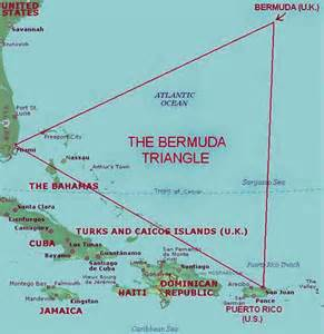 bermuda on a map bermuda triangle map traveling flickr