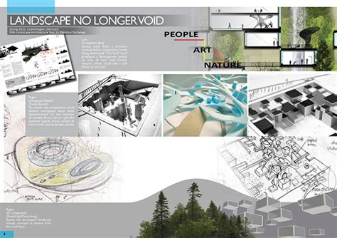 urban design brief pdf landscape architecture portfolio sles on behance
