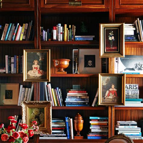 stylish ideas for arranging and organizing bookcases