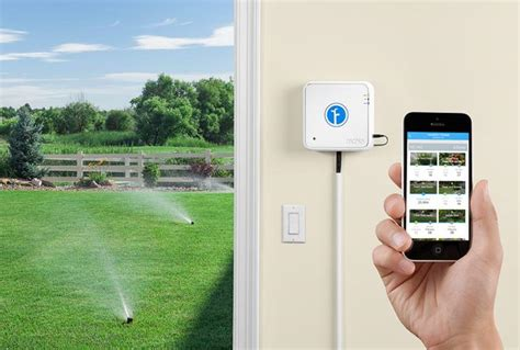 z wave sprinkler per your garden