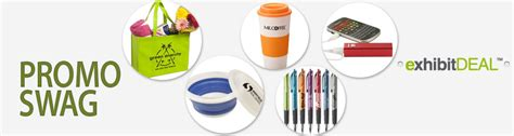 Branded Giveaways - promotions exhibit deal