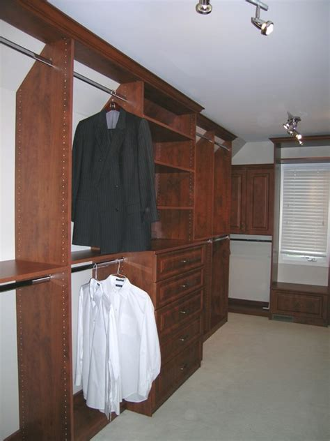 Slanted Ceiling Closet Design by Slanted Ceiling Traditional Closet Chicago By Closet Organizing Systems