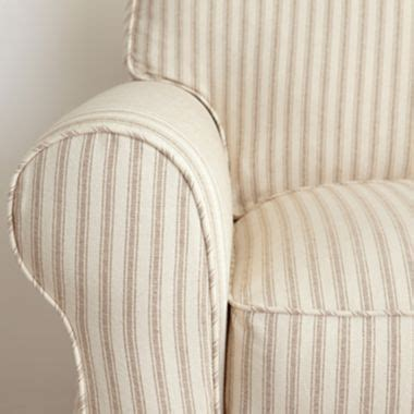 linden friday slipcovered sofa stripes slipcovers and on