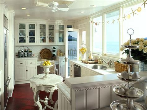 beach cottage kitchen ideas coastal kitchen afreakatheart