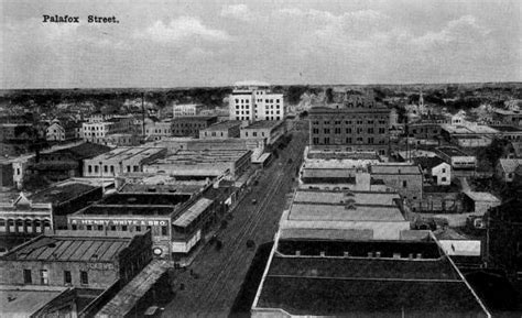 florida memory bird s eye view looking palafox