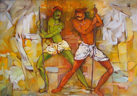 biography of indian artist pon raghunathan s latest painting pon raghunathan