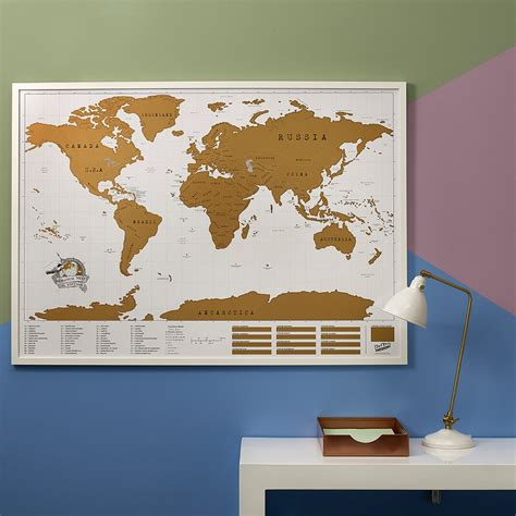 Scratch World Wall Map scratch map 174 deluxe world map poster