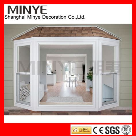 Bay Bow Windows abordable pvc vinyle remplacement windows avec baie vitr 233 e