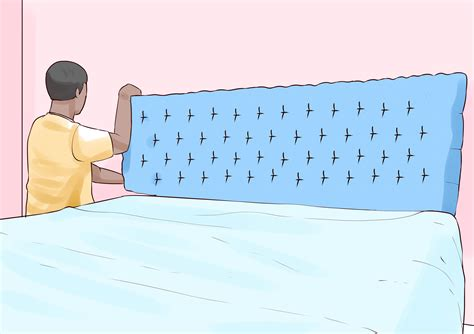 how to make leather headboard how to make a faux leather headboard 13 steps with pictures