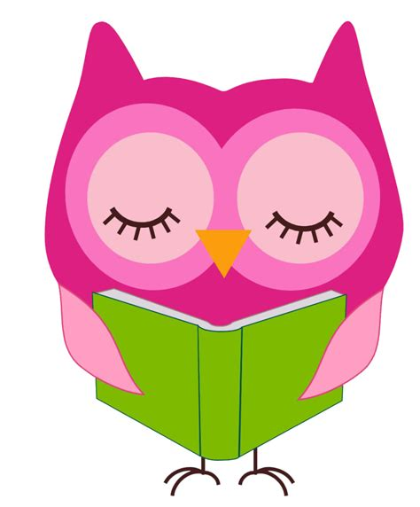 owl clipart best owl reading clipart 21060 clipartion