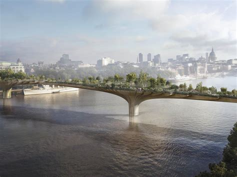 landscape bridge london s garden bridge city centre haven or a bridge too
