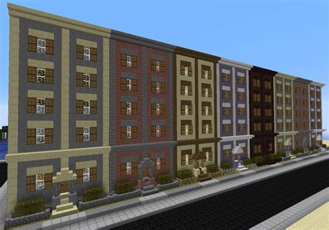 Mountain Home Exteriors by Minecraft Row Houses By Mountaindude246 On Deviantart