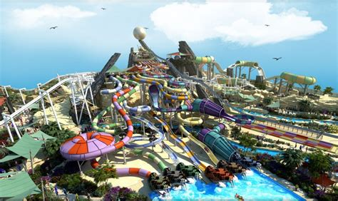 World Yas Green Certified Yas Waterworld Park Opens In Abu